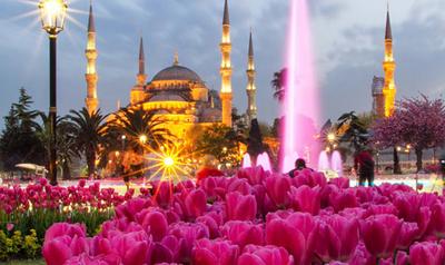 Цветница и Фестивал на лалето в Истанбул